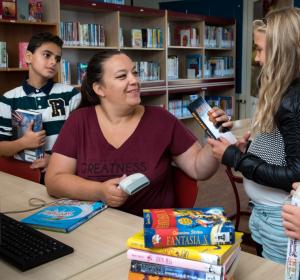 Bibliotheek op school | Basisschool De Heliotroop